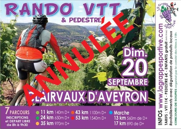 Annulation rando flyer